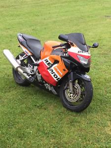 99 Honda CBR F4 600 REPSOL EDITION