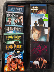 Harry Potter and other DVDs
