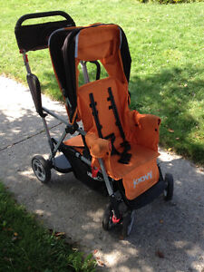 Joovy Caboose Ultralight with Removable Rear Caboose Too Seat