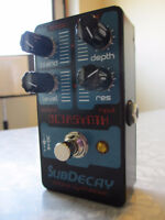 Subdecay Octasynth Guitar Synthesizer Pedal