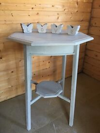 Stunning shabby chic side table