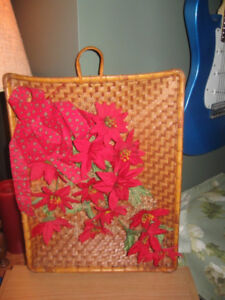 Poinsettia  Wall Hanging