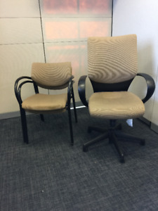 Task and Guest Chair Combo - Keilhauer Tom and Also