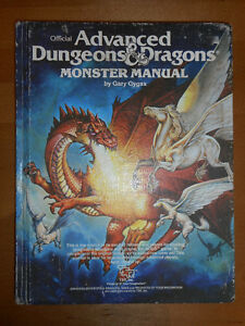 Livre Dungeons and Dragons