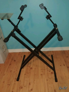 Instrument stand for keyboards, etc, really versatile, just $50