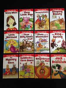 CHILDREN'S FAIRYTALE BOOK SET (12 BOOKS NEW)