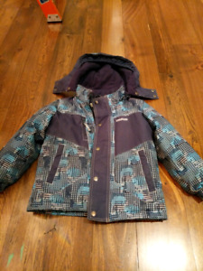 Osh kosh kosh toddler boys winter jacket and snow pants - size 5