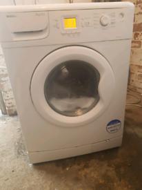 Washing machine delivered installed