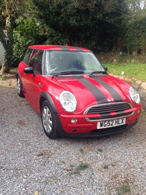 Mini one 1.6 petrol 2003 long mot