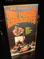 VHS-30 GREAT BOXING ONE PUNCH KNOCKOUT