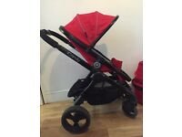 Icandy peach 3 sherbert pushchair travel system