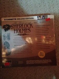 The return of Sherlock Holmes 8 cassette deluxe edition London Ontario image 2