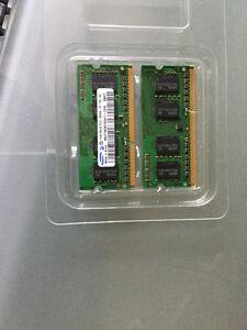 MacBook RAM 2X 1 GB