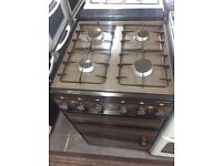 Brown Parkinson Cowan 50cm gas cooker grill & oven good condition with guarantee bargain