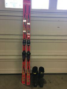 Adult ski + boot package