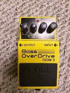 Bass Overdrive OBD-3 Pedal - Boss