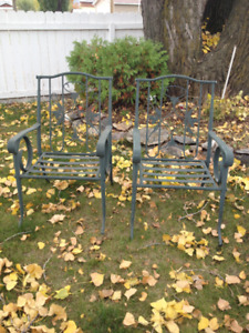 Two Outdoor Patio Chairs - MOVING SALE