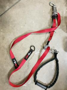 TRX suspension rope