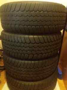 Winter tires 205/50 R 17 West Island Greater Montréal image 1