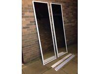 Wardrobe doors sliding