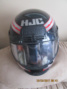 HJC Motorcycle Helmet with full  face shield.