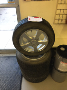 185/65 R15 winter rims and Nitto sn2 tires