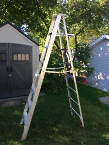 Escabeau 8 pieds léger en aluminium