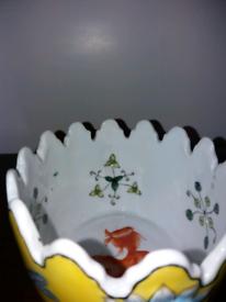 Old decorative dish.