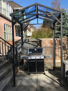 BBQ Shelter & Garden Shed for sale