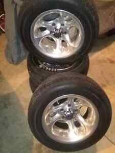 Gm Aluminum Rims. 5x4.75 London Ontario image 1