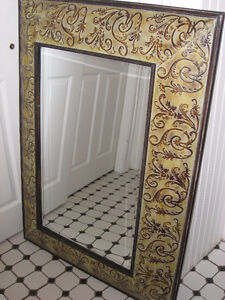 Large Accent Hanging Mirror