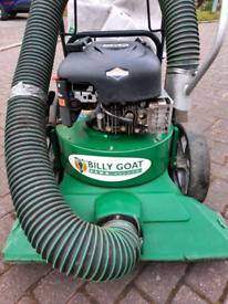 Billy goat lawn vacuum