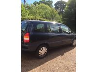 Vauxhall Zafira 1.6v club petrol 2001