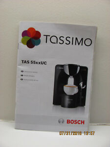 (price reduced)TASSIMO COFFEE MAKER BY BOSCH Gatineau Ottawa / Gatineau Area image 3