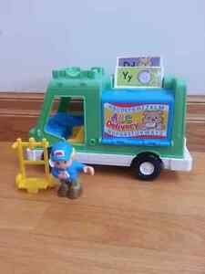 Fisher Price ABC Delivery Truck