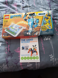New lego boost set and book