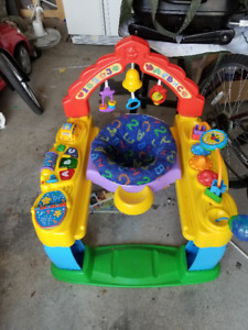 infant and toddler playpen, saucer