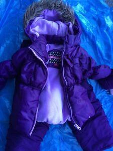 18 months snowsuit combo- Westbound Grape excellent