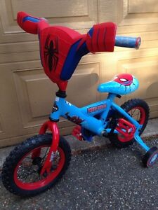 Kids Bike! Spiderman