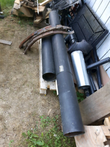 Double wall chimney pipe