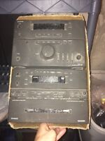 Onkyo stereo with onkyo speakers