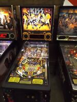 New Pro Kiss pinball or Pro Game Of Thrones