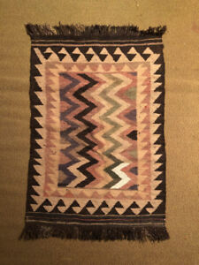 Vintage Hand Woven Rugs with Rare Patterns (circa 1950)