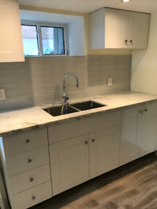 Furnished 2 bedroom apartment on St.Clair for 2 students NOW