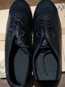 Tap Dance Shoes - unisex black