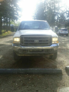 Ford F-250 4x4 crew cab w/towpck *reduced price!!!*
