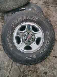 16 inch chevy gmc rims and tires