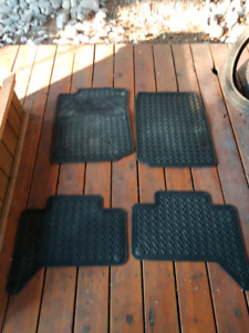 All weather mats for Tacoma