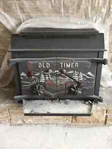 Old timer wood fire place