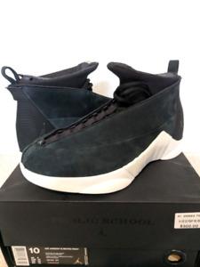 Air Jordan 15 Retro PSNY Black Suede